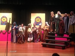 "RULH Middle School Presented ""The Best Christmas Pageant Ever"""