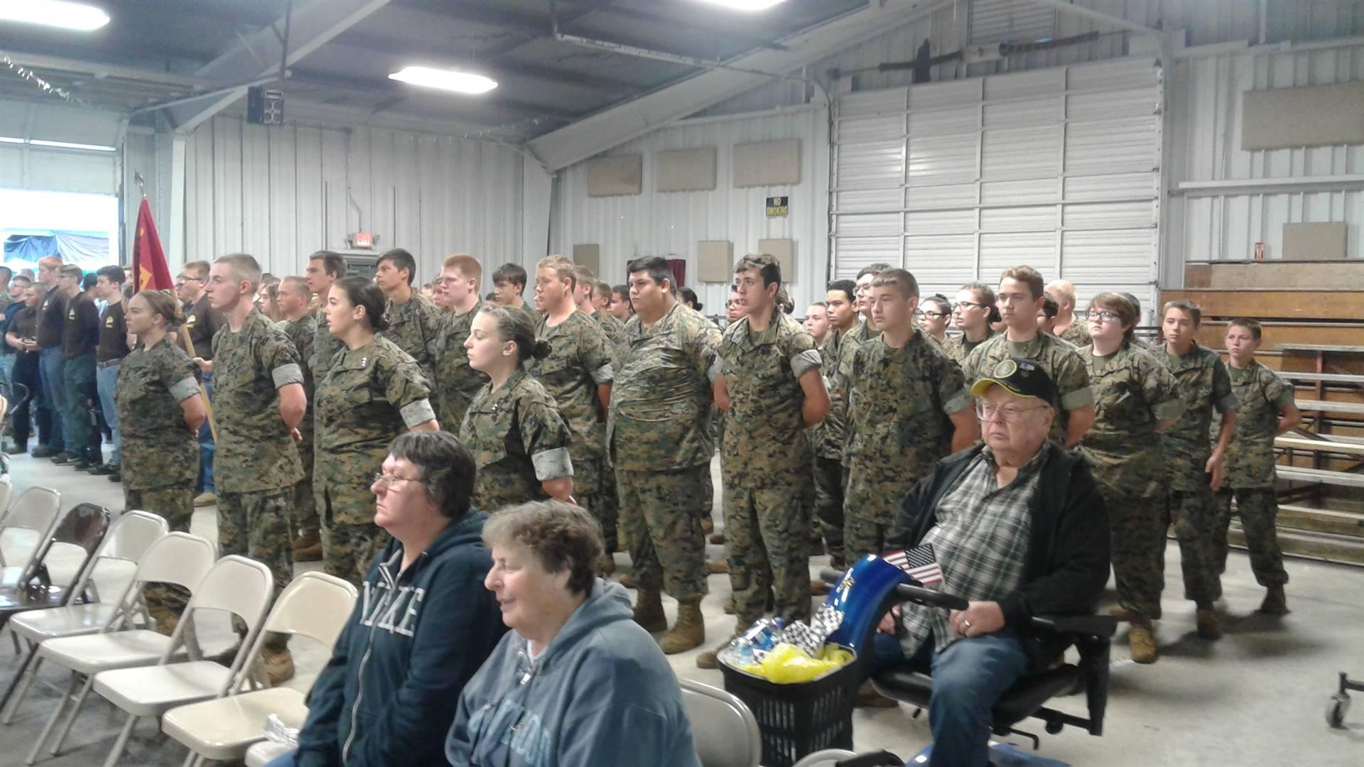 Brown County Fair Veteran's Appreciation Night