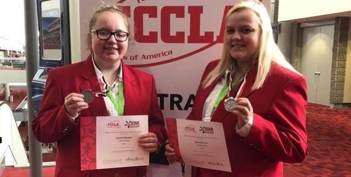 2018 FCCLA National Convention - Silver Medalists Destini Stewart & Charisma Lee