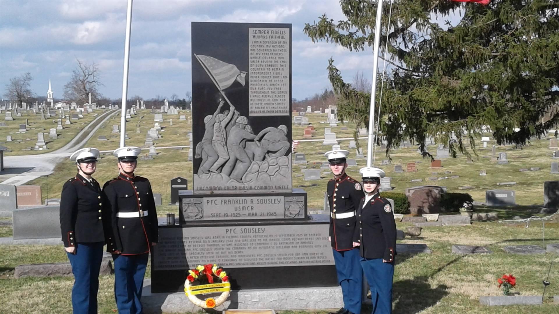 Franklin Sousley Memorial