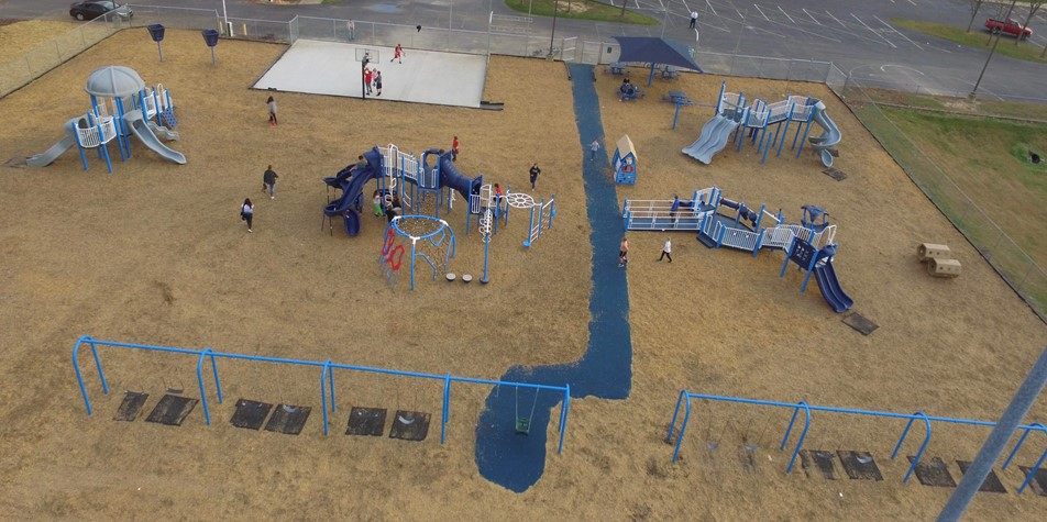 Playground finished