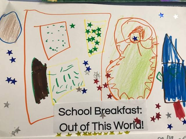 RULH ES Breakfast Poster Contest 3rd Place
