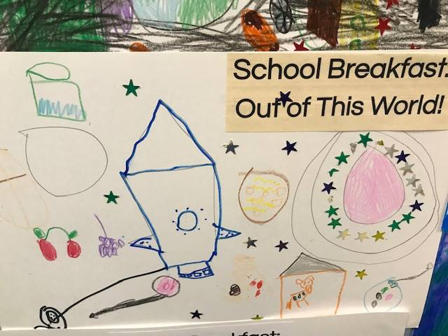 RULH ES Breakfast Poster Contest 4th Place