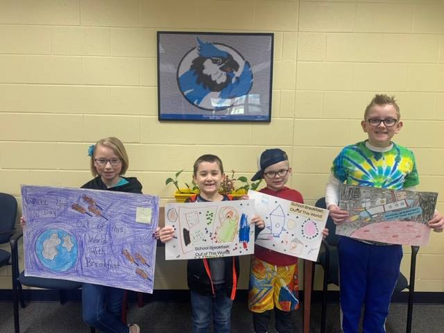 RULH ES Breakfast Poster Contest Winners