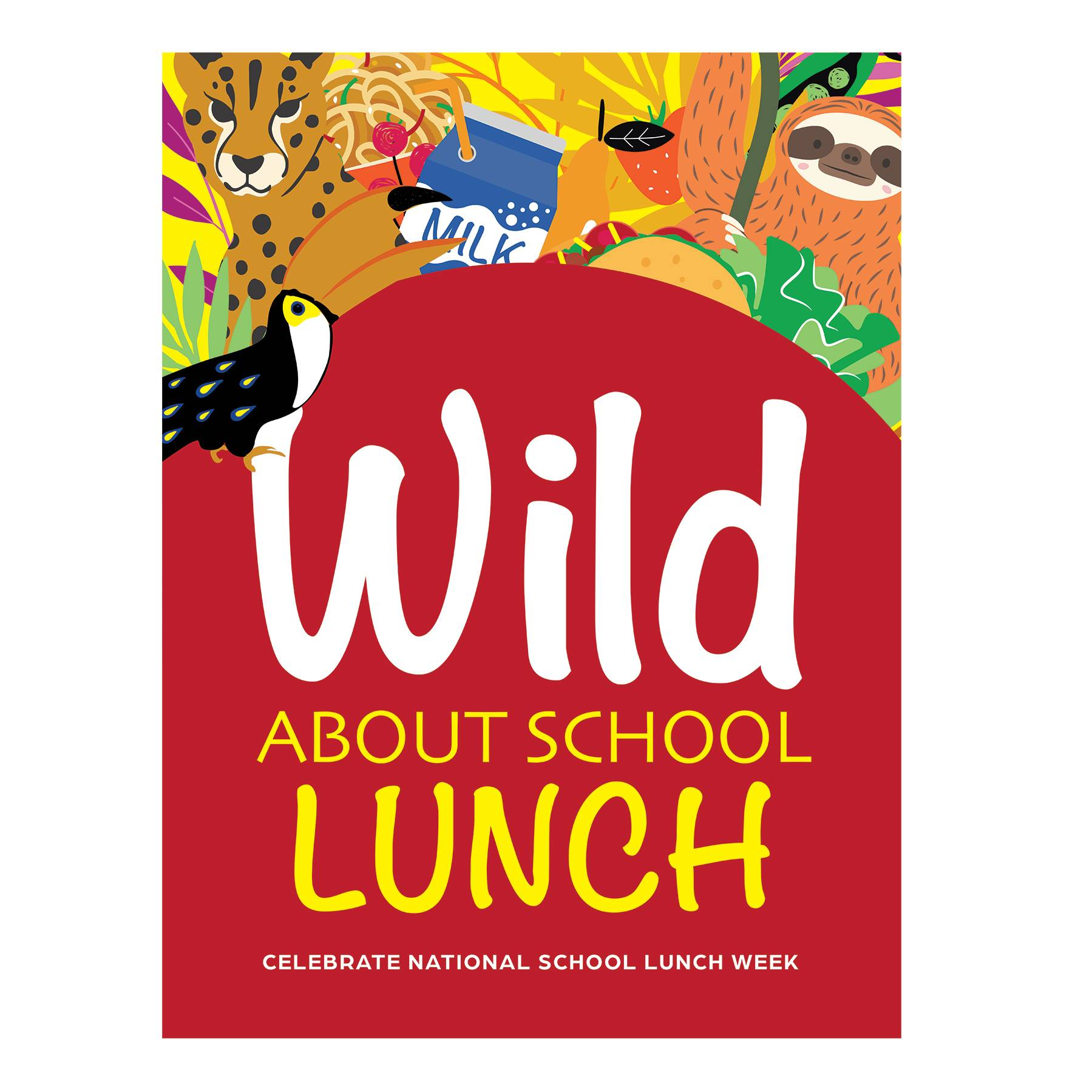Wild About School Lunch