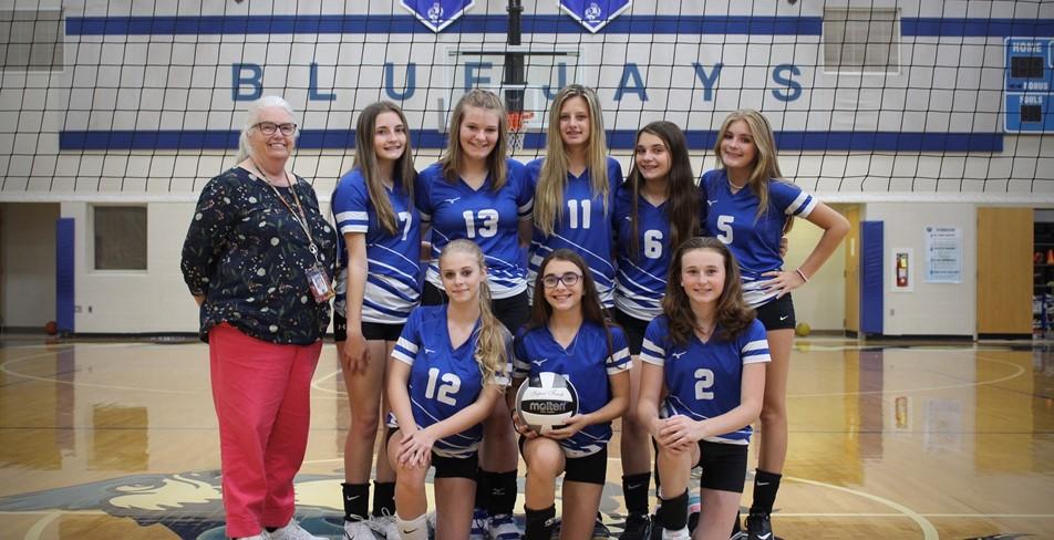 8th Grade Volleyball 2021