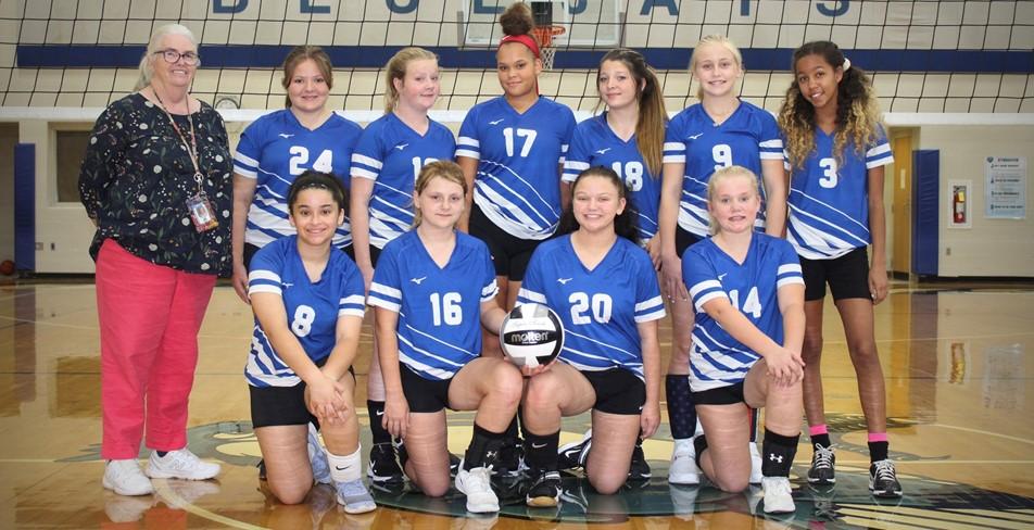 7th Grade Volleyball 2021